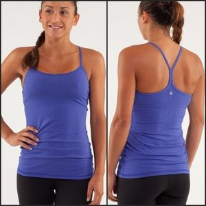 Lululemon Power Y Tank Luon Light Tonka Stripe 6